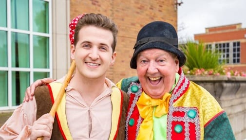 This July, I will be reunited with legend @jimmy__cricket since we performed in pantomime together a couple of years ago @wctclacton