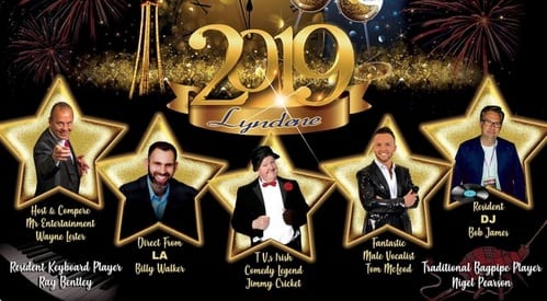 Jimmy Cricket headlines the Lyndene Hotel's Christmas line-up