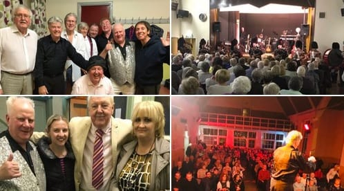 Jimmy Cricket: Fantastic evening at Besses 0' The Barn United Reformed Church with organiser, Children's Entertainer Chris, compère Jim Nicholas, with Jimmy Jermaine as Cliff Richard, and the John Stokes Bachelor's, alongside Carnaby Street