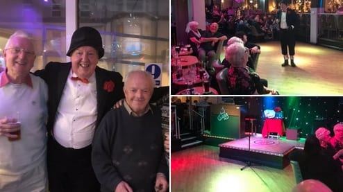 Jimmy Cricket's next show at the lyndene is on New Year's Eve