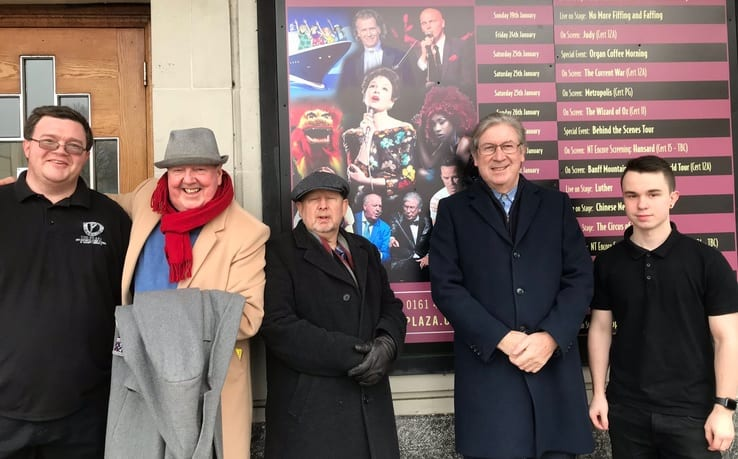 Our thanks to everyone who came to see the play @StockportPlaza1 and to Ted the Manager with his technical team, Rosie and Ben and Jake and all the volunteers alongside, David from @DavidHullPromo and @andrealNtheatre and Manager Ruth from @Grand_Theatre and @GerryMolumby
