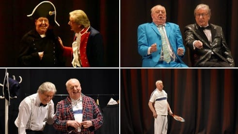 "Event Photos 67 @eventphotos67 · 14h Great to photograph Jimmy Cricket again at the Stockport Plaza for his play "" No More Fiffing & Faffing "" ."