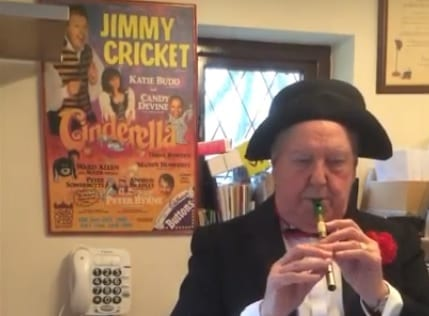 Watch Jimmy wish everybody a Happy St Patrick's Day