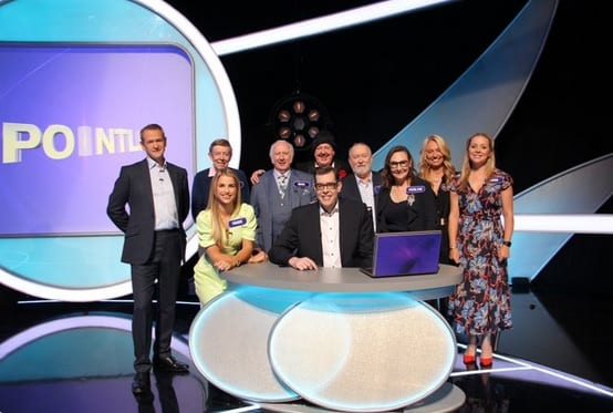 Well folks what a fun show (despite being called Pointless) to be part off. Will be televised on Saturday 14th March, let's make it a date everyone!