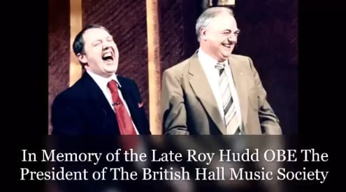 Jimmy Cricket paid his own special tribute to old friend Roy Hudd OBE on