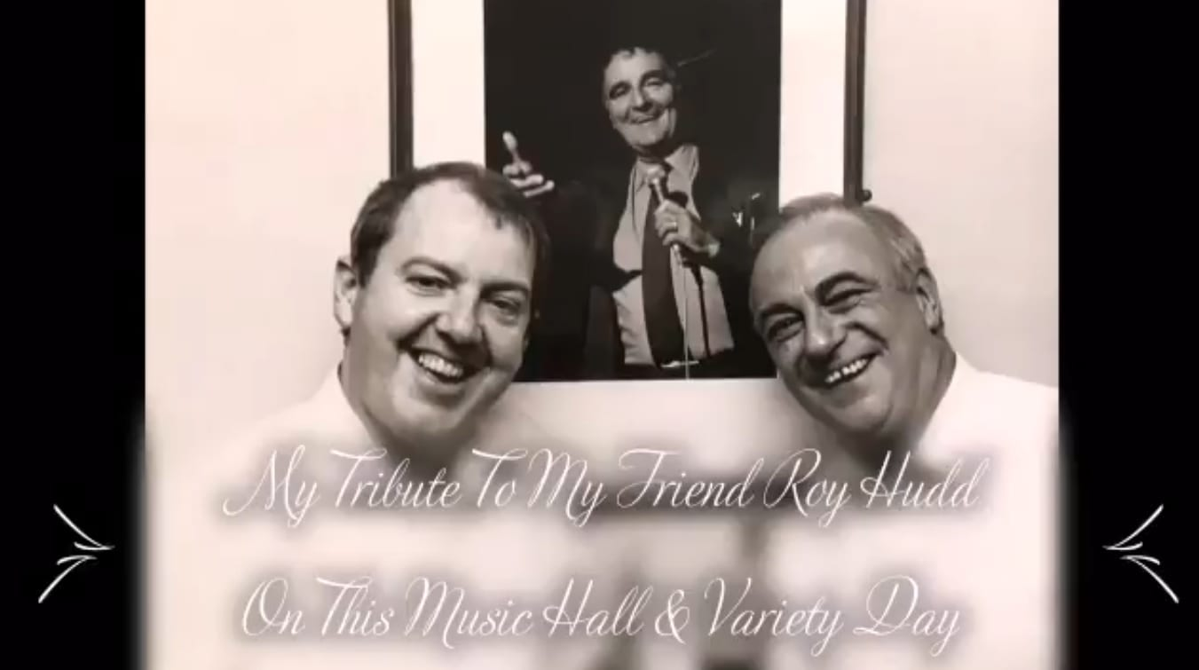 My own personal contribution to @musichallsoc and my tribute to my sadly missed friend Roy Hudd OBE whose birthday it is today!