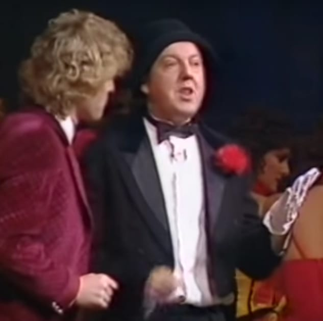 Hi folks! Nostalgic footage, the year was 1984 and I had the great privilege to be part of this great Royal Variety Show, present was the Queen Mum, Princess Diana and Prince Charles