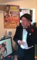 Jimmy Cricket is just 10 away from completing a century of his special daily video messages.