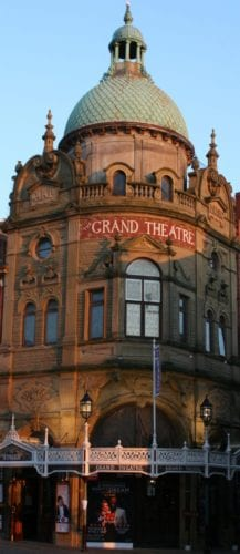 "Jimmy Cricket says the closure of the iconic Grand Theatre in Blackpool would be a ""tragedy"" for future generations"