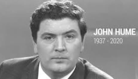 Nobel Peace Prize winner John Hume, who brought peace and stability to Northern Ireland