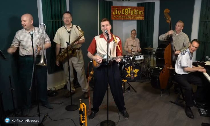 Great fun and pleasure virtually working with the Jive Aces tonight