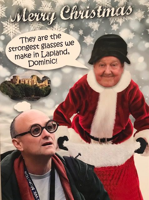 Jimmy Cricket's Christmas card 2020