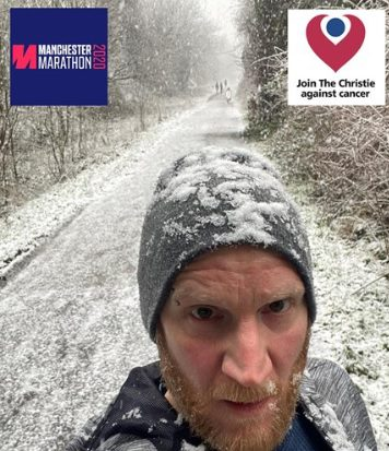 Lee Martin is planning to run the Manchester Marathon in October in aid of The Christie.