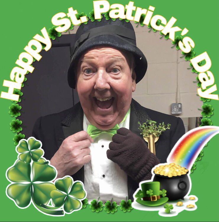 Belfast-born Jimmy Cricket has wished everybody a happy St Patrick's Day.
