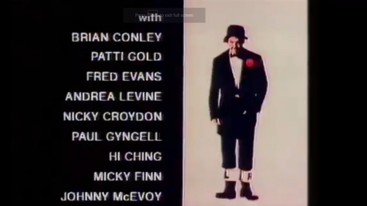 Brian Conley appeared in Jimmy Cricket's TV show on Central Television