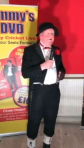 Irish comedian Jimmy Cricket in the virtual Rotary Variety Show which raised £800 for Minster-on-Sea Rotary Club