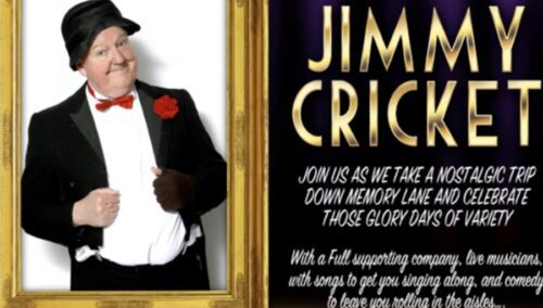 Mark Andrews' Award Winning Productions return with The Good Old Days of Variety in Doncaster starring headliner comedy legend the one & only Jimmy Cricket
